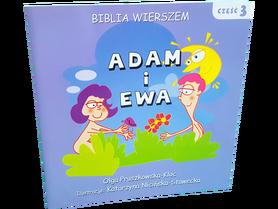 BIBLIA WIERSZEM * cz.3 * Adam i Ewa * Olga Pruszkowska-Kloc * książeczka