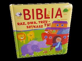 BIBLIA - RAZ, DWA, TRZY, SZUKASZ TY * Julia Stone * książeczka