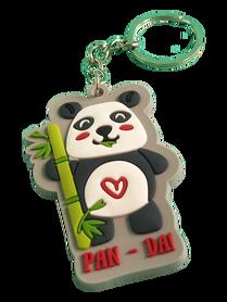 BRELOK GUMOWY * Pan-Da * miś panda * gadżet