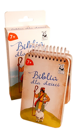 BIBLIA DLA DZIECI * Opowieści i Zagadki * gra karciana