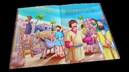 NAJWSPANIALSZE HISTORIE BIBLIJNE * Wieża Babel * książeczka