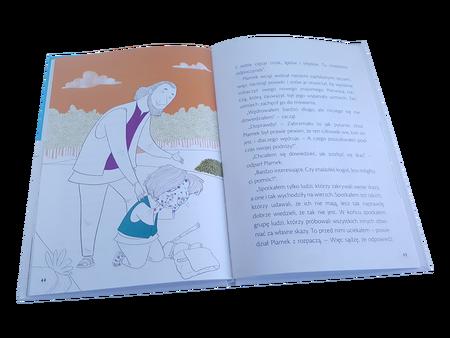 PLAMEK - OPOWIEŚĆ O PRZEBACZENIU I ŁASCE * Andy Addis * książeczka